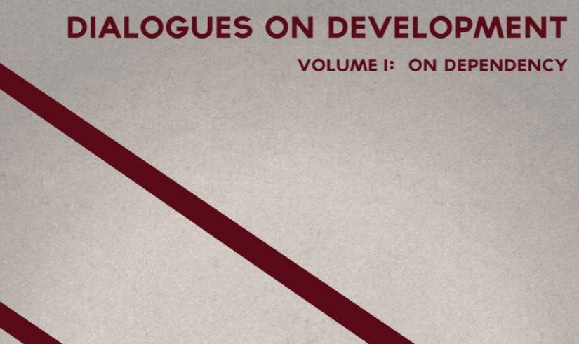 Book cover Dialogues on development