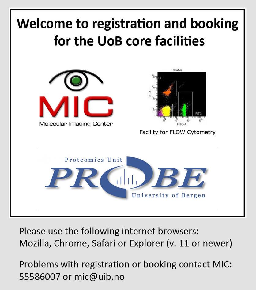 IRIS Bookingpage