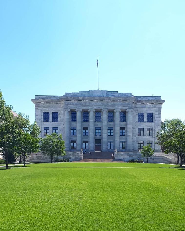 Facade of Harvard Medical School.