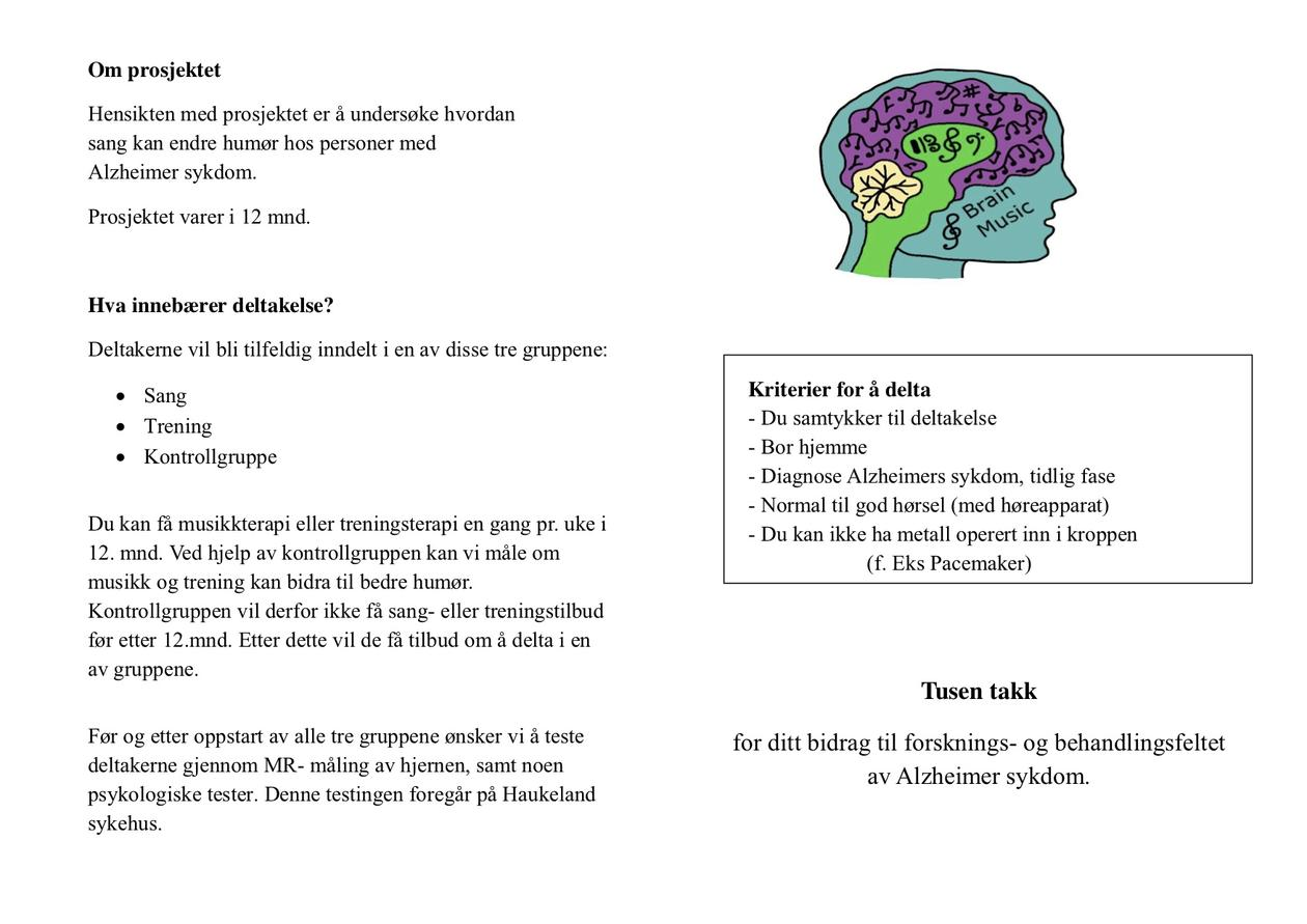 Brosjyre ALMUTH prosjektet