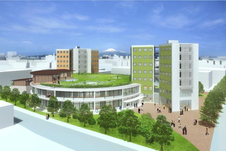 Tegning av campus
