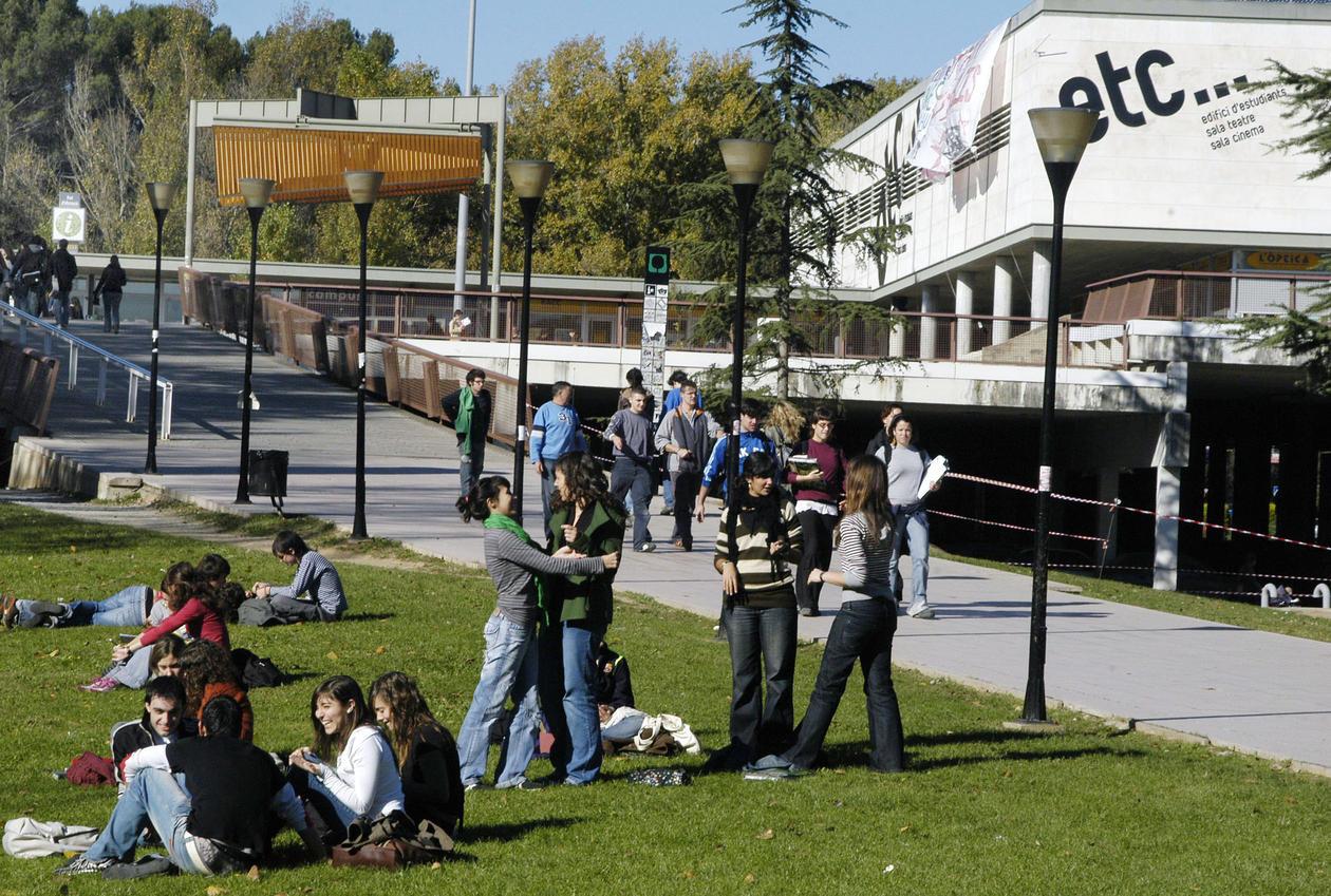 Folk på campus
