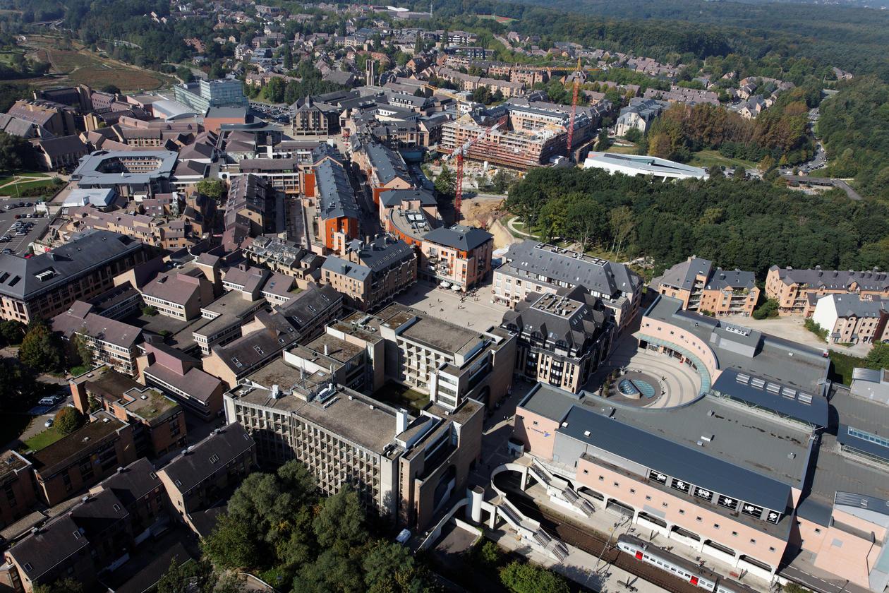 Campus fra luften