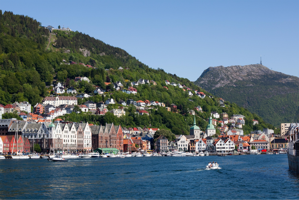 Bergen, the gateway to the Norwegian fjords