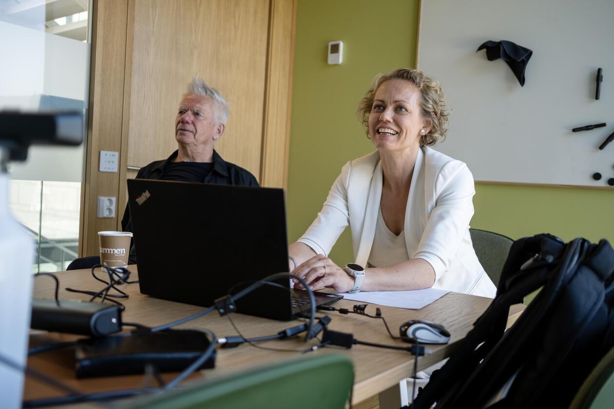 Kalle Moene (UiO) og Tina Søreide (NHH)