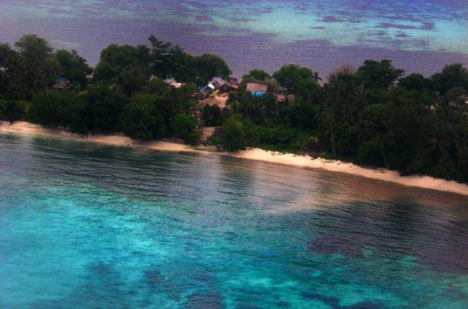 Houses in Solomon islands