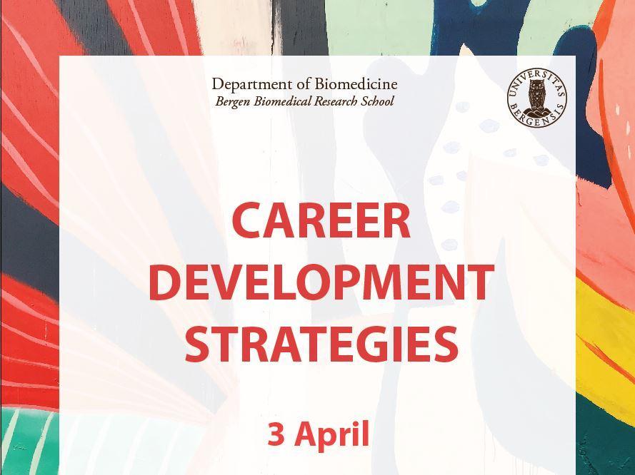 Plakat Career Development Strategies