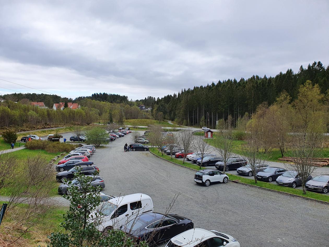 Dalsmyra carpark