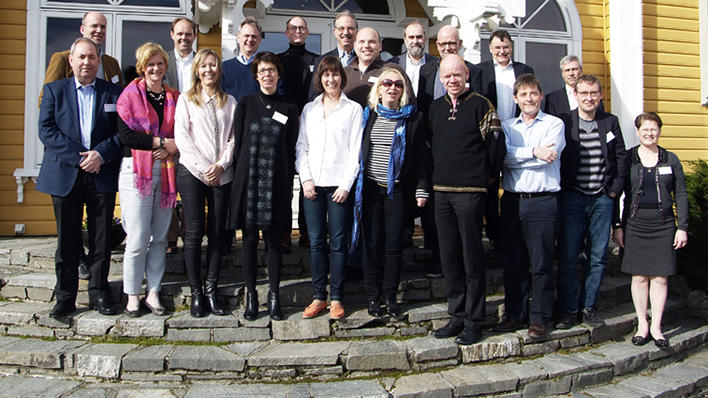 CCBIO-storgruppe på Solstrand