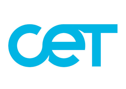 Logo for CET