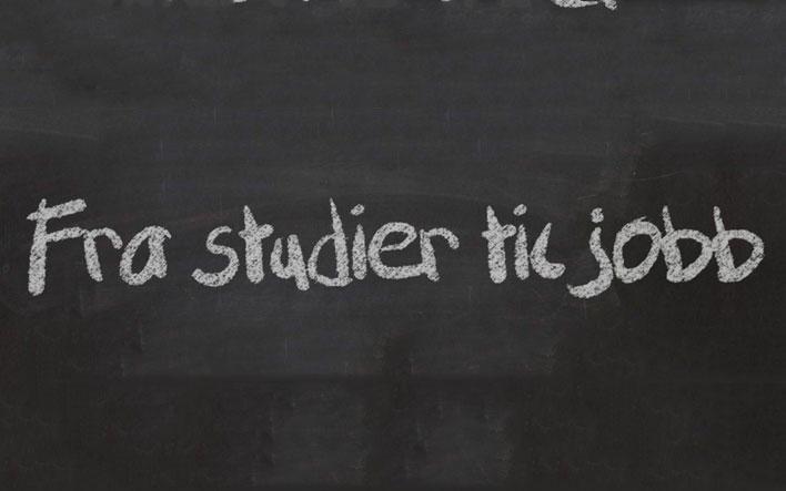 Fra studier til jobb