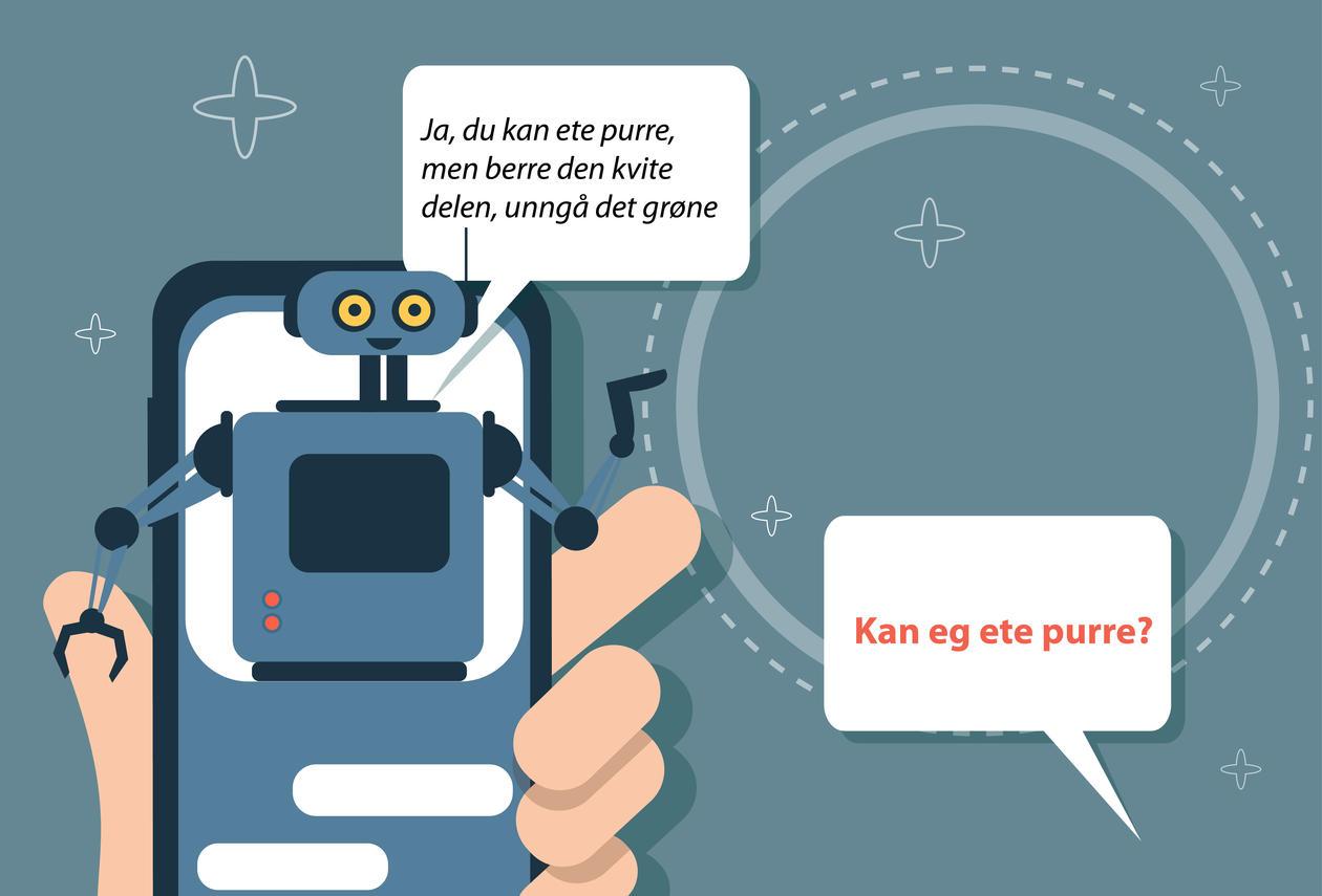 Chatbot skal hjelpe pasienter