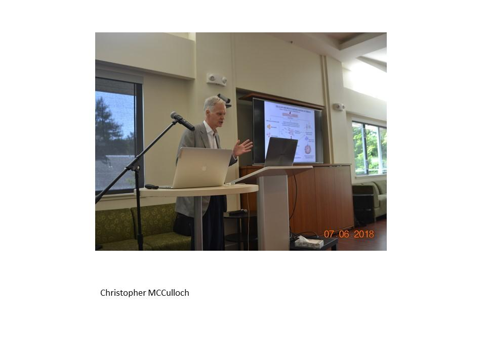 Christhopher McCulloch at the SF conference 2018