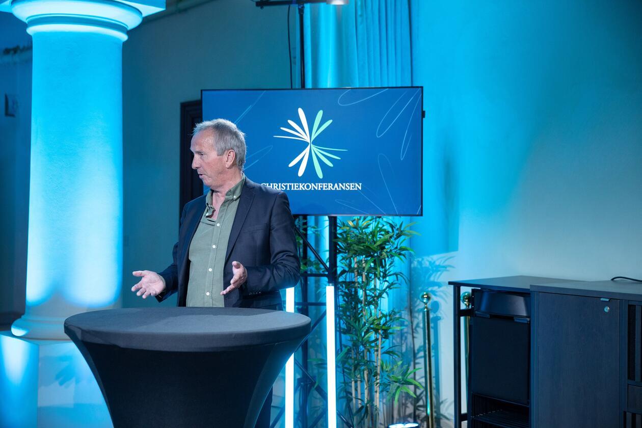 Christiekonferansen 2021 Tommy Staahl Gabrielsen ledet programkomiteen