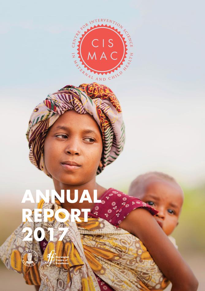 Titel page CISMAC annual report