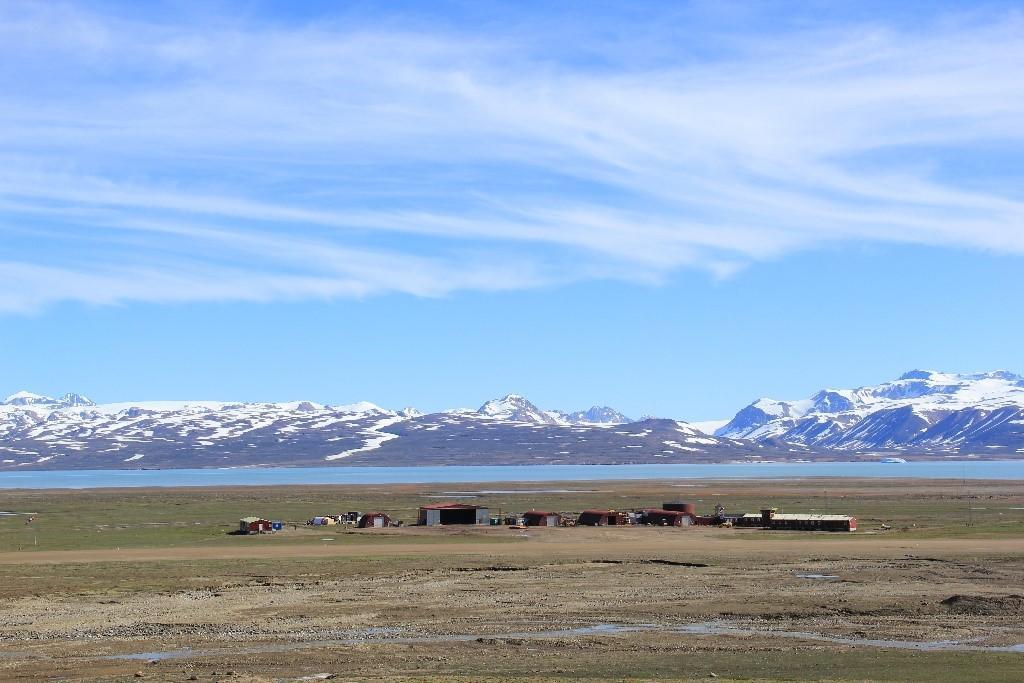 Grønnland landskap