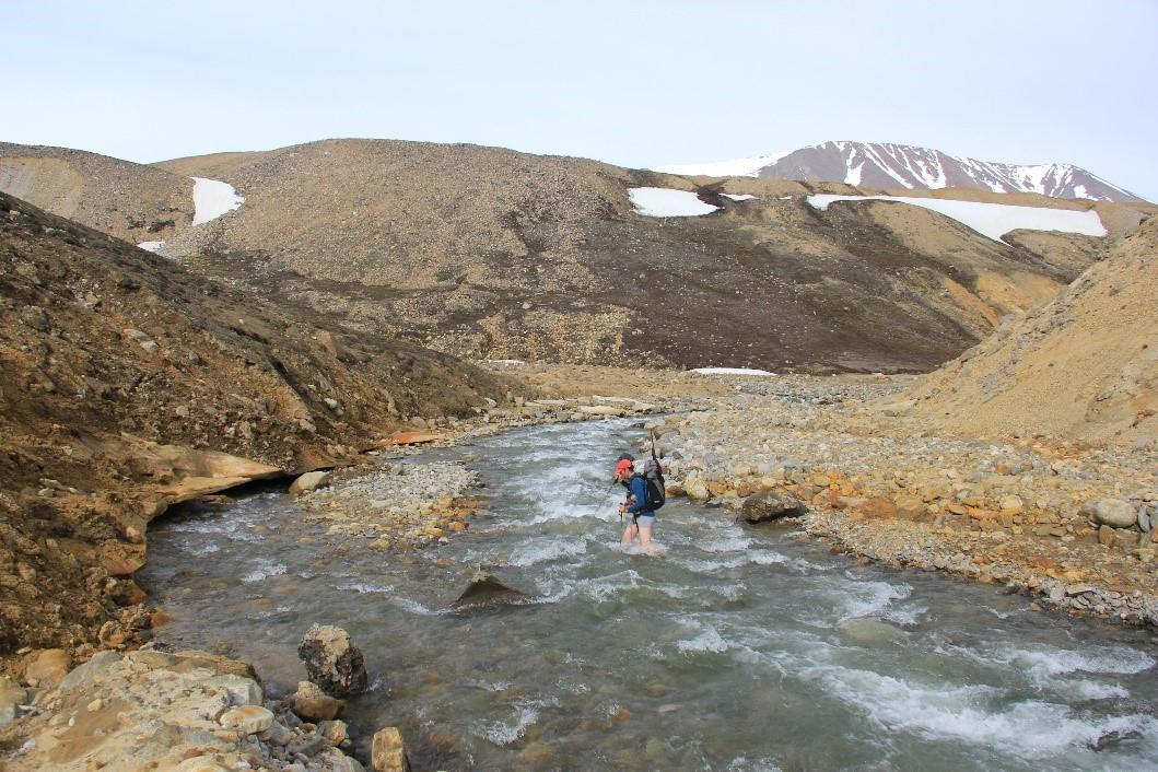 River at Greenland
