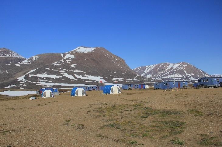 Greenland desert