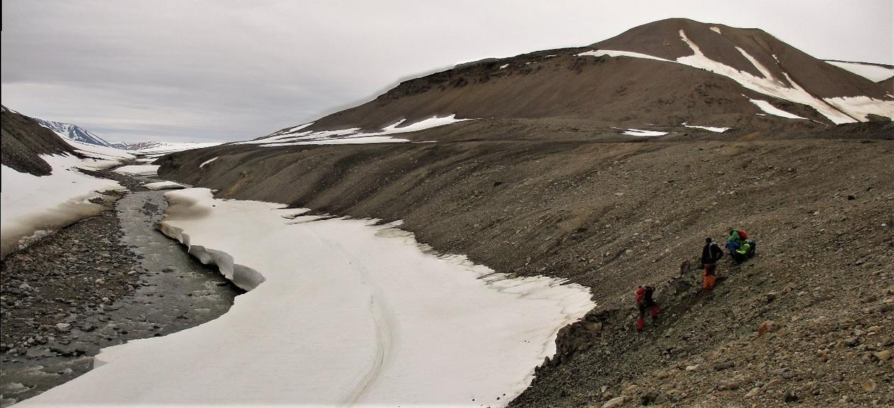 Snow at Greenland