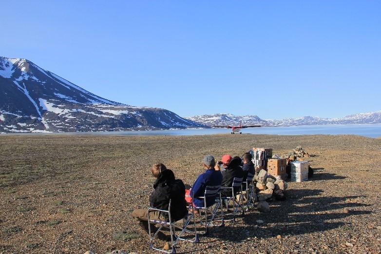 Sledge at Greenland