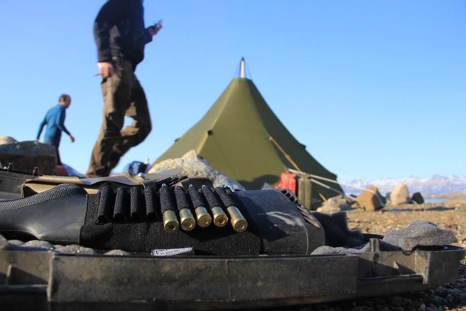 Boot camp at Greenland