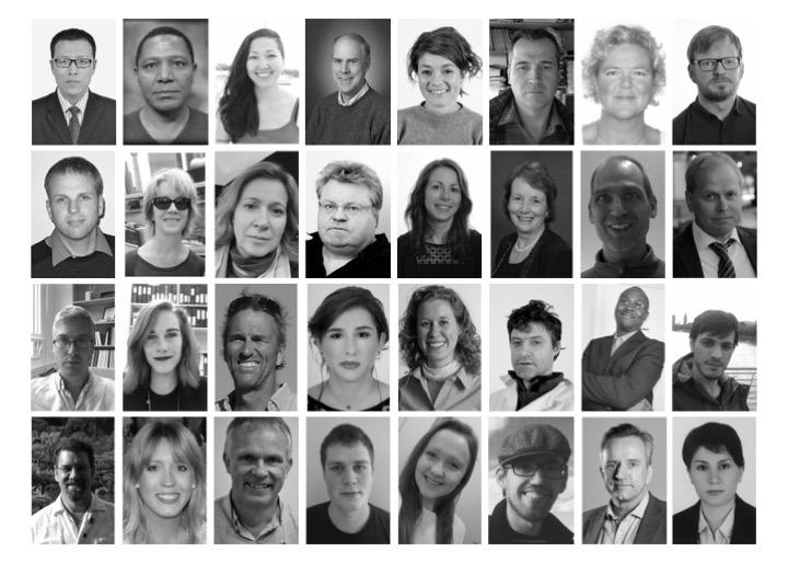 Collage of the project partners