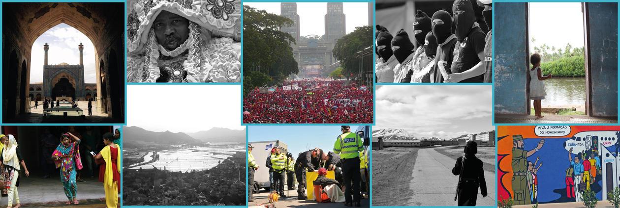 Collage av forskning ved Institutt for sosialantropologi