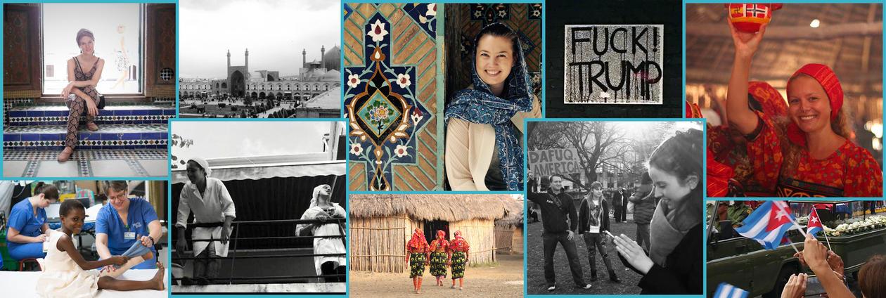 Collage masterstudenter ved Inst for sosialantropologi