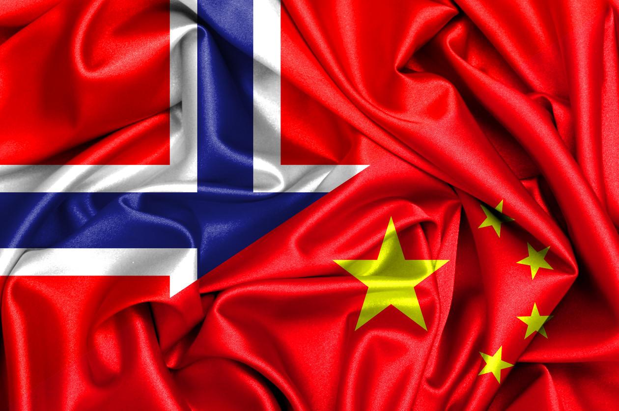 Norway-China Flag