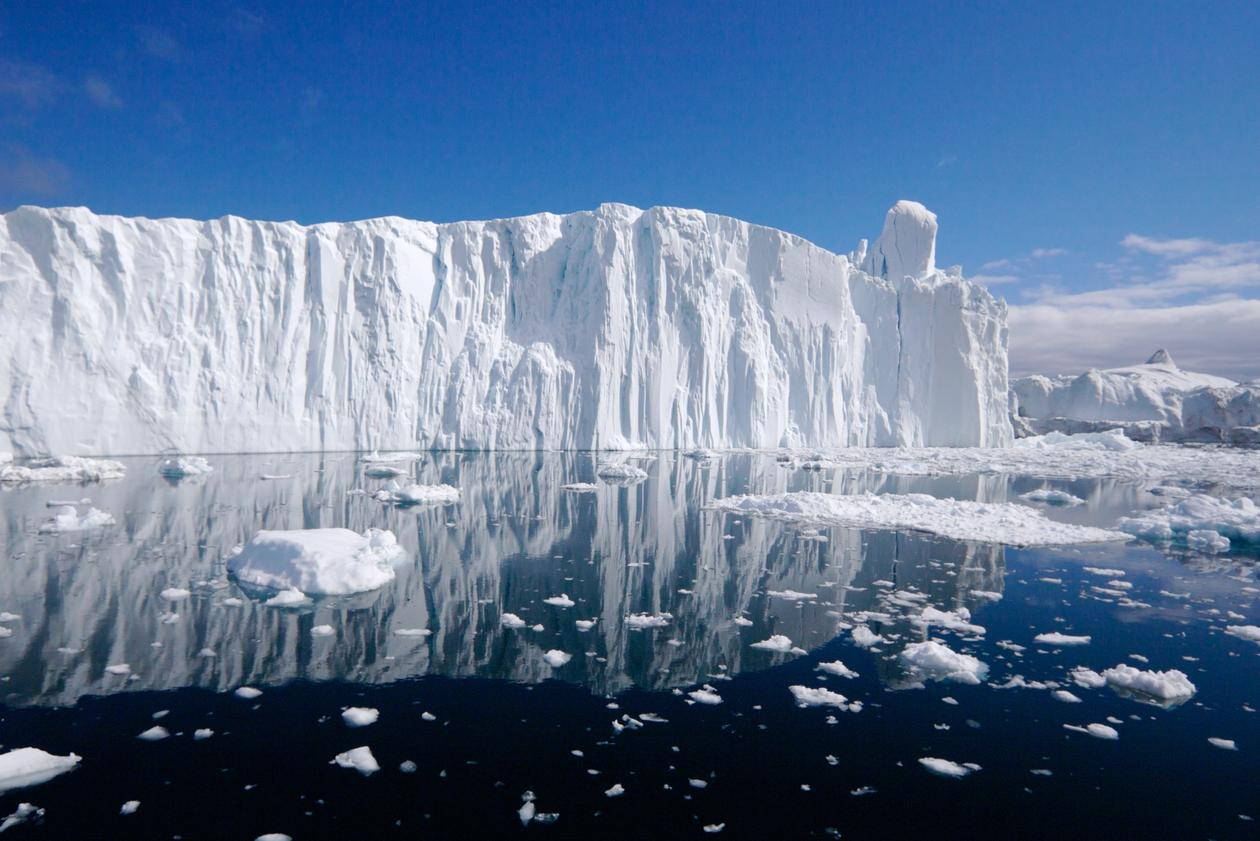 The Ilulissat ice fjord in west Greenland, used to accompany article on the announcement of the ERC Consolidator Grant to Professor Noel Keenlyside.