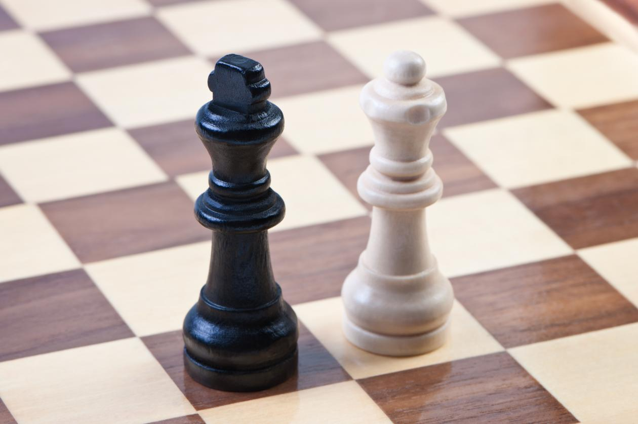 Picture of a chess board