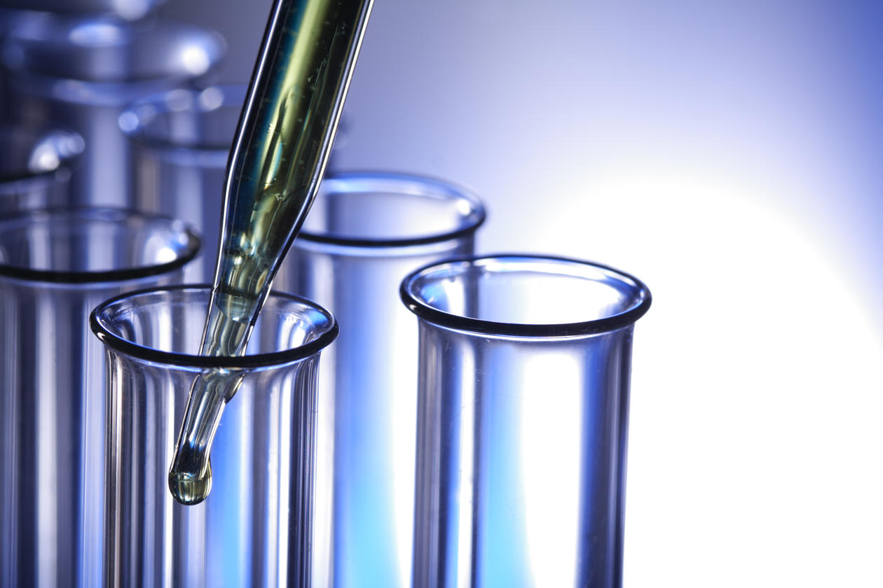 Illustration photo of test tubes in a laboratory.