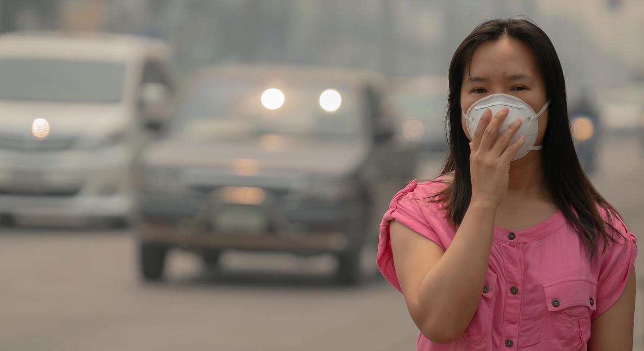 Air pollution China