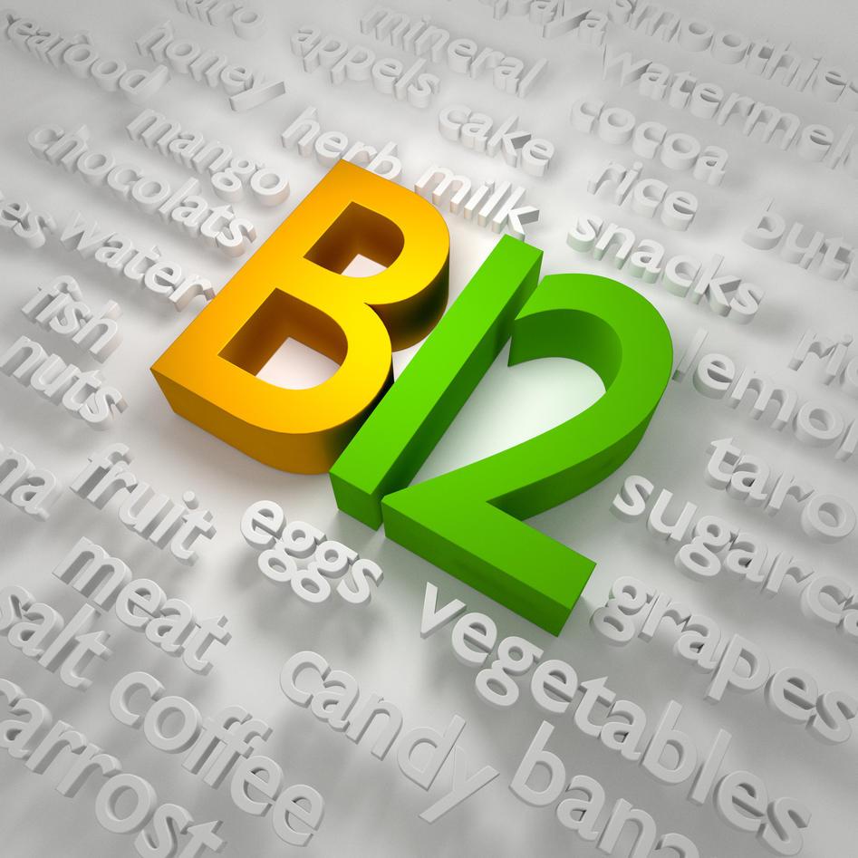 B 12 vitamin illustration