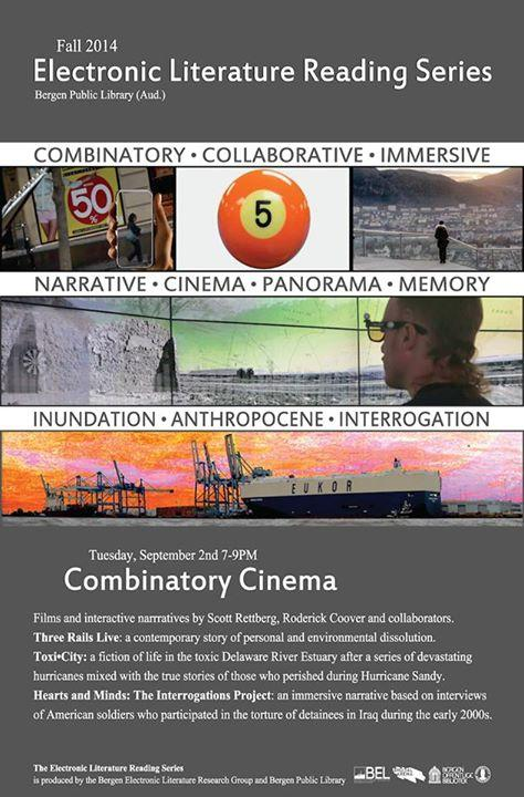 Poster for Combinatory Cinema event