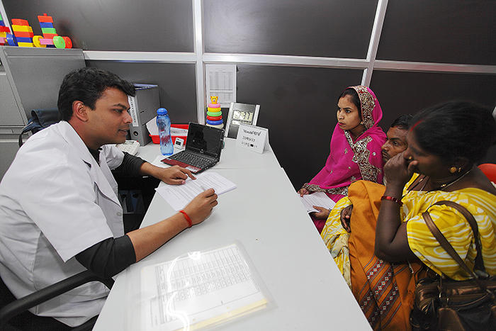 Consenting process in Indian Rotavirus trial