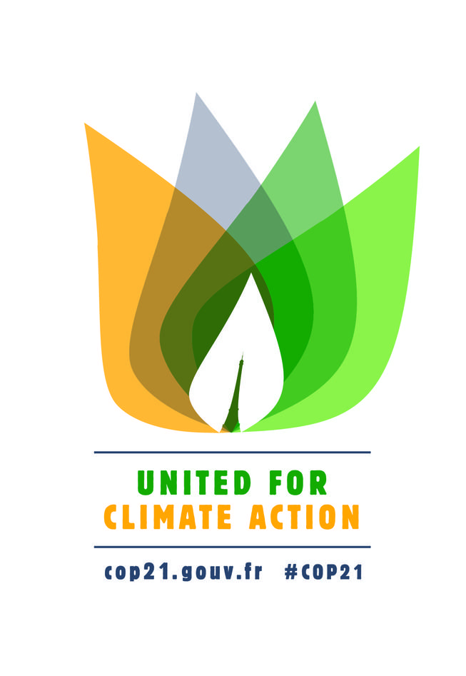 Logoen til COP21