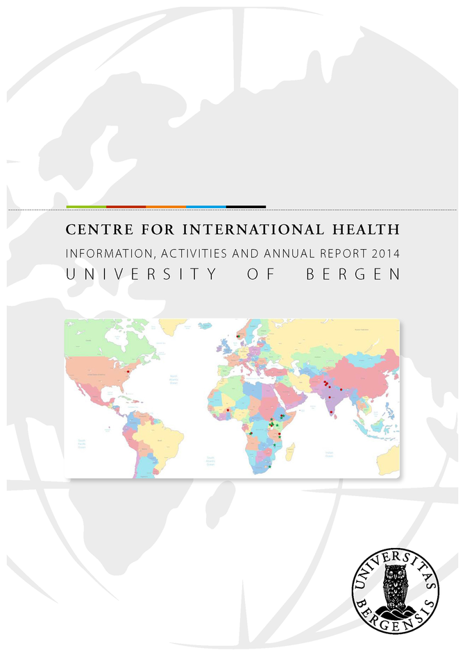 Cover: Annual Report CIH 2014