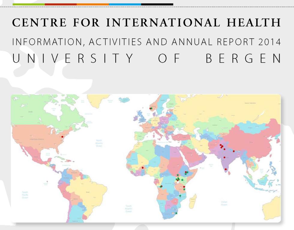 Cover: Annual Report CIH 2014
