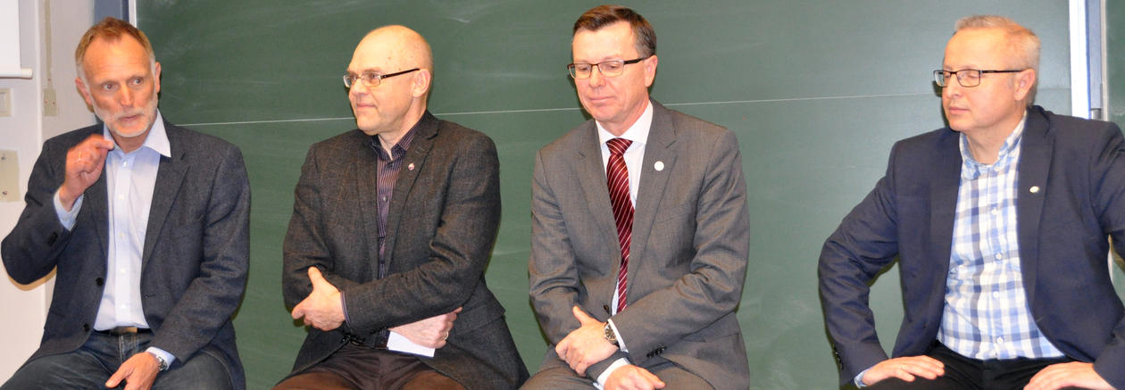 Panel during UiB Energy opening
