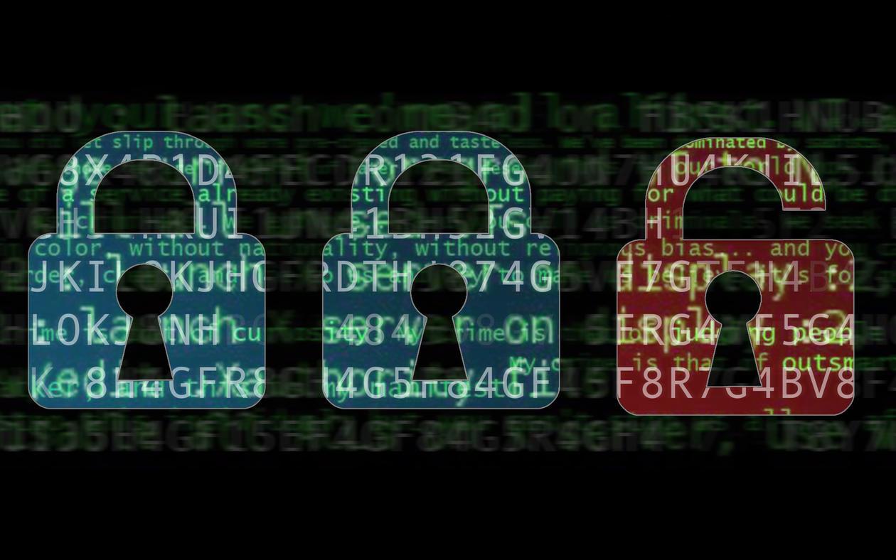 Cyber-sikkerhet, illustrasjonsbilde