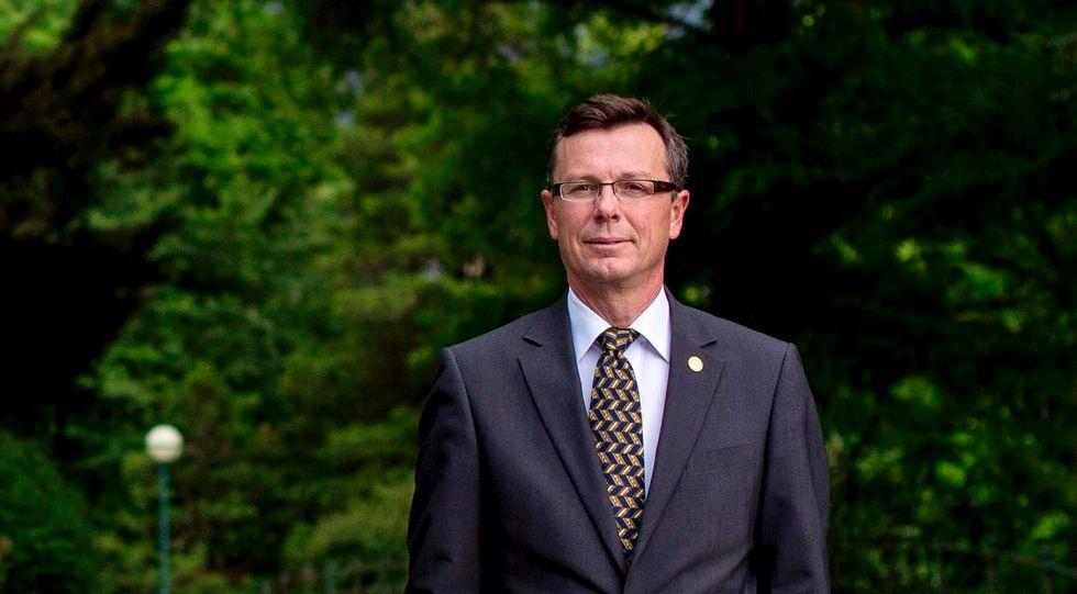 Dag Rune Olsen, rektor ved UiB