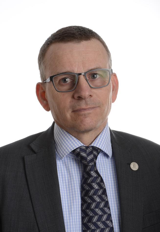 Dekan Helge K. Dahle, Det matematisk-naturvitenskapelige fakultet, Universitetet i Bergen.