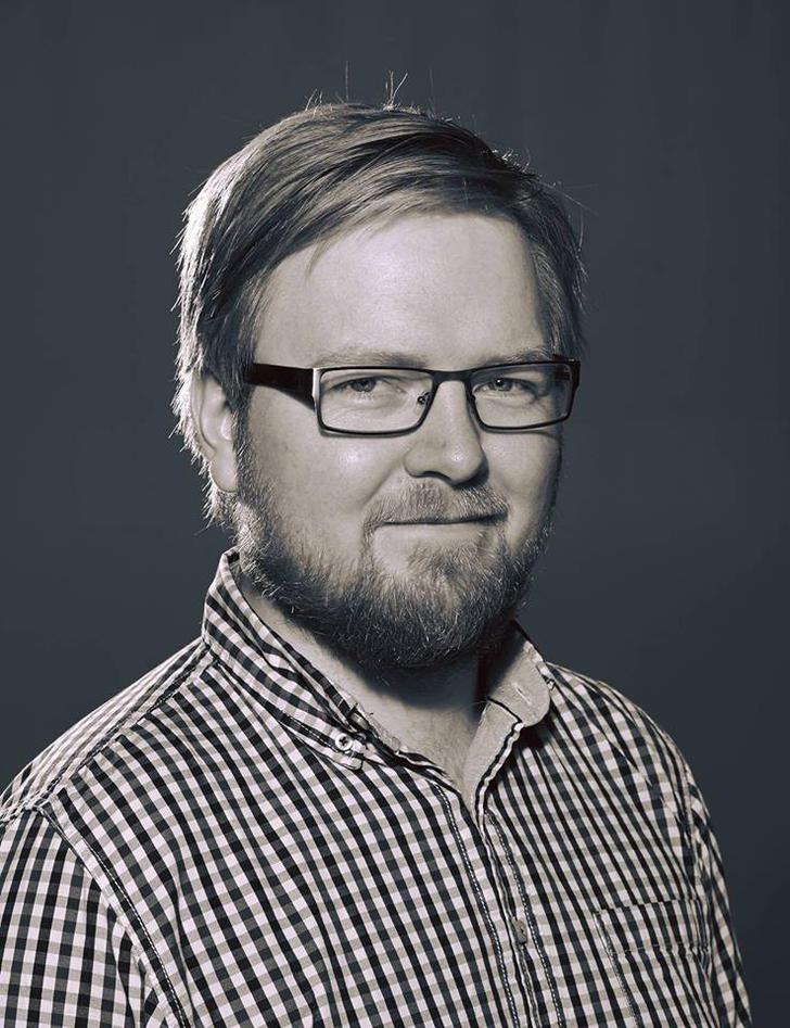 Portrett av Dan André Velle