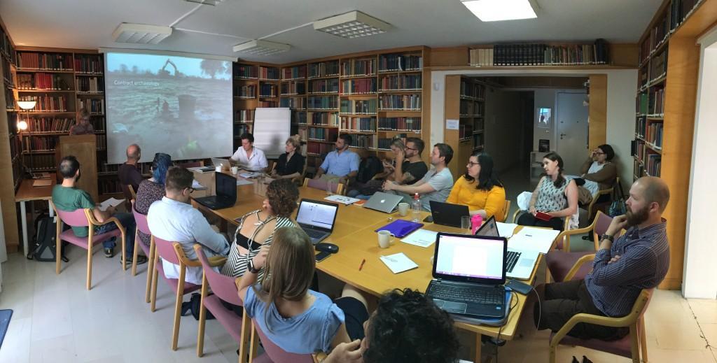 A visiting seminar at the Norwegian Institute at Athens