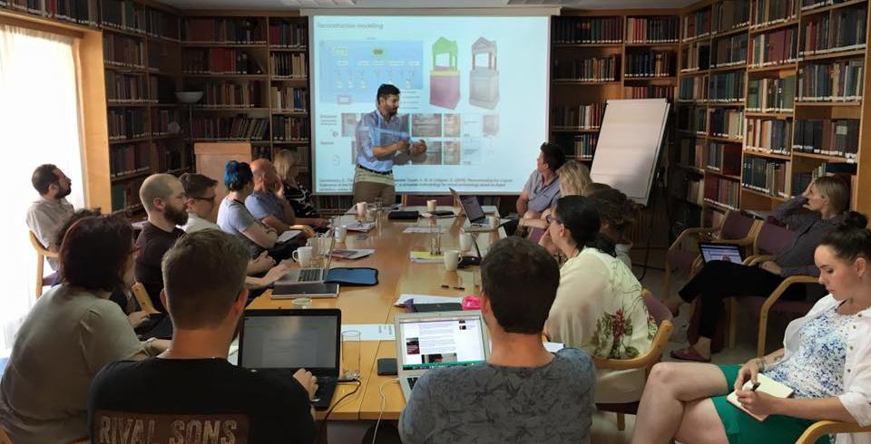 Seminar at the Norwegian Institute at Athens