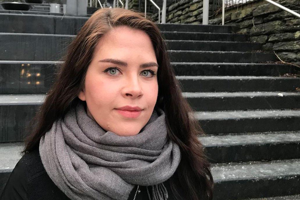 Marlene Louise Myrtvedt tar bachelorprogrammet i digital kultur.