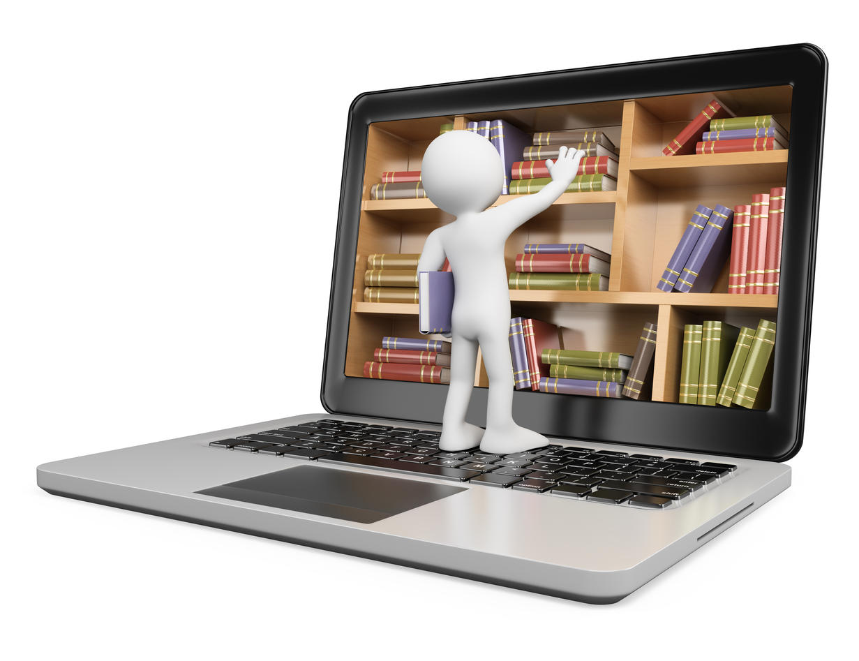 Digitalt bibliotek, digital læring
