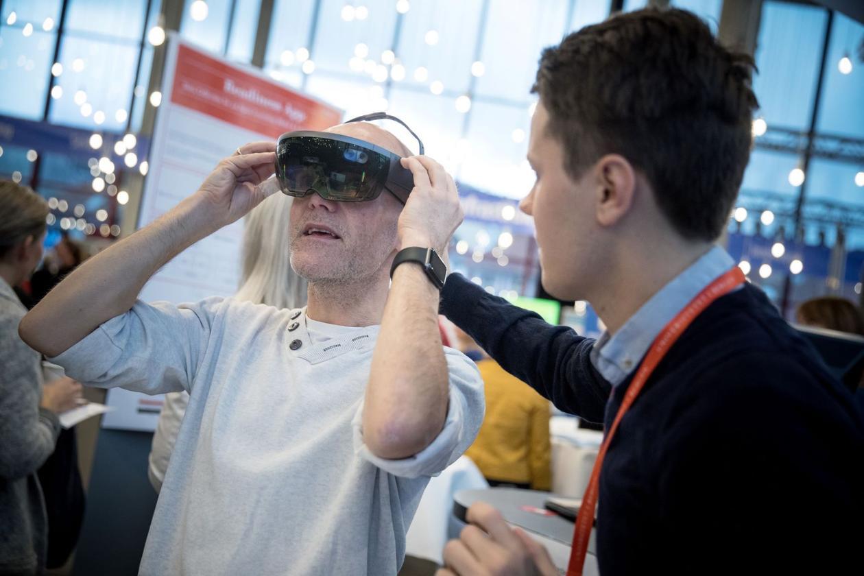 VR briller på digital myldredag