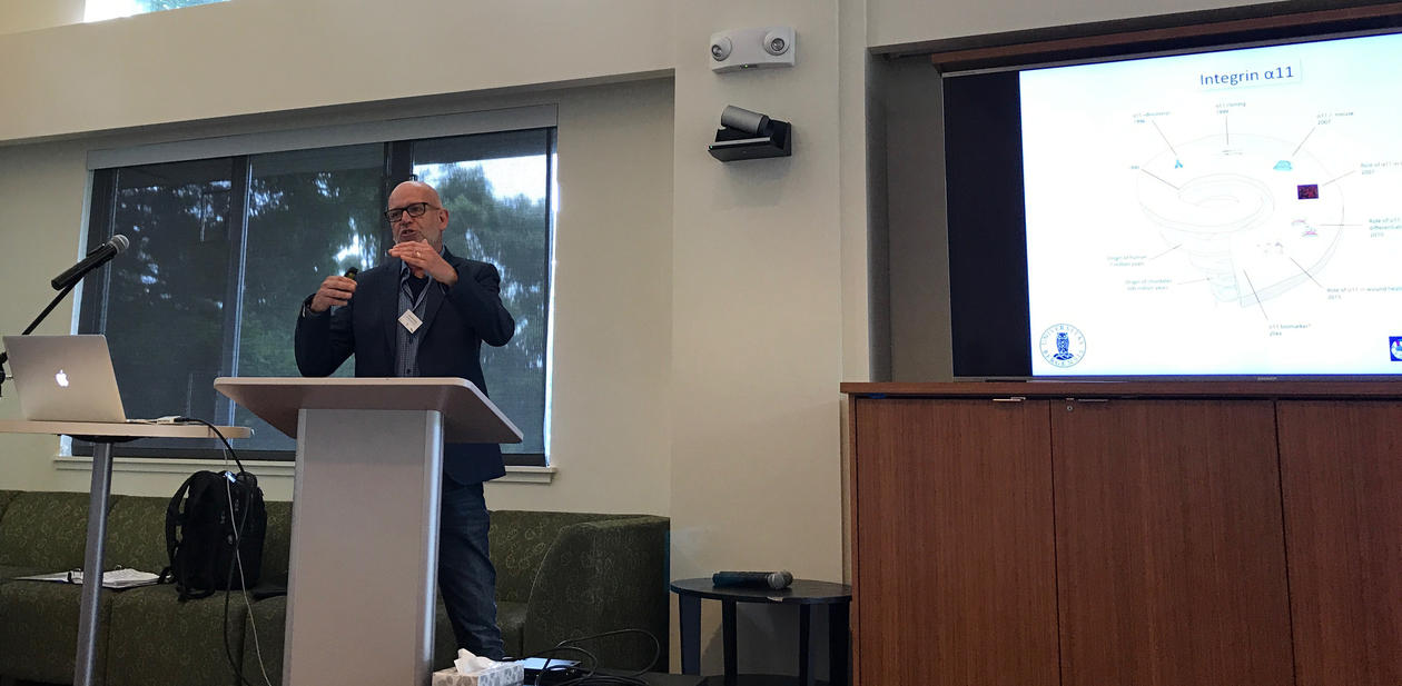 Donald Gullberg at the SF conference 2018